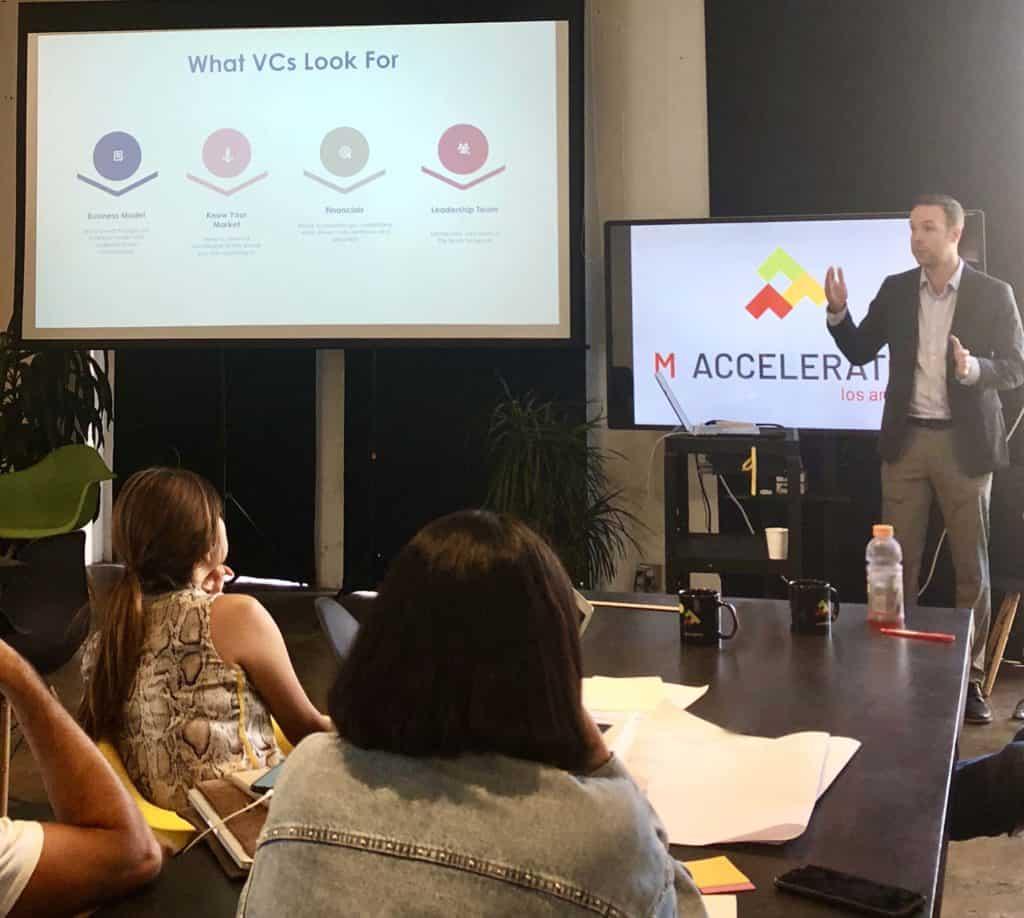 Scott Matthews, VC investment presentation to Startups